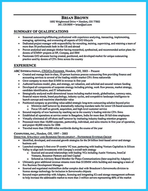 cool Make the Most Magnificent Business Manager Resume for - construction project manager job description
