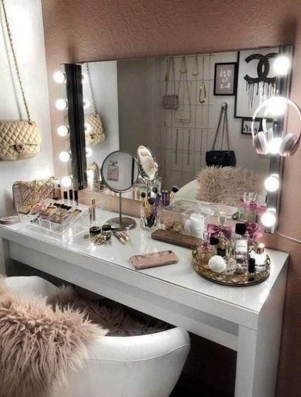 Makeup Desk Organization Ideas 23 New Ideas Makeup Organization