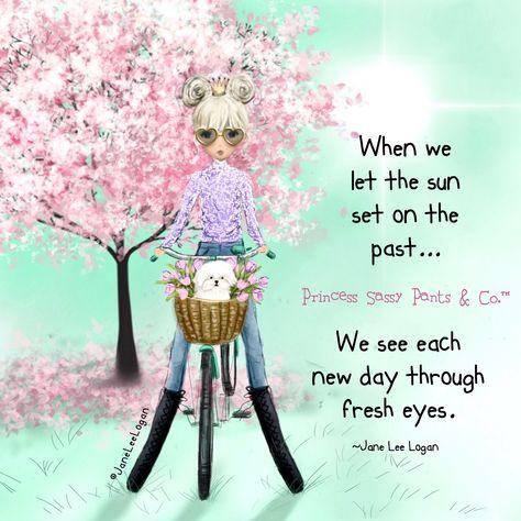 Through the eyes of love…