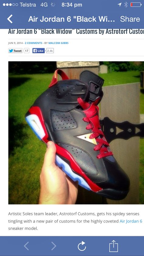 the latest 7b68e 9d1fd Jordan 6 customs