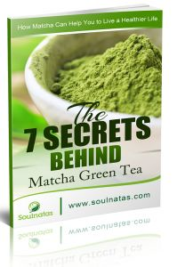 Soulnatas Announces Every Amazon Sale Of Japanese Matcha Green Tea Powder Now Comes With Free EBook
