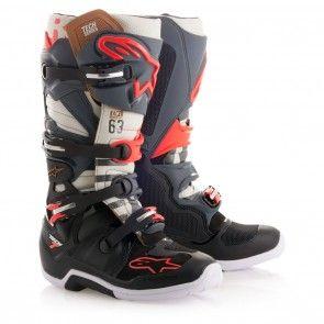 Dp Alpinestars Tech 7 Black Jack Mens Motocross Boots