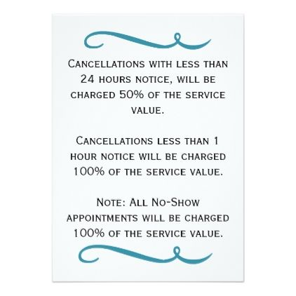 Cancellation Notice Card Invitations Personalize Custom Special