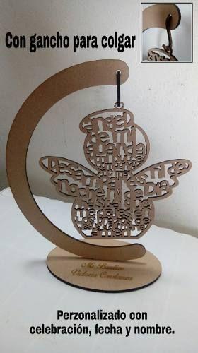 Recuerdos De Bautizo Cruz De Madera.Cruces Angelitos Arboles Mdf Personalizados 20 Cm Fiestas