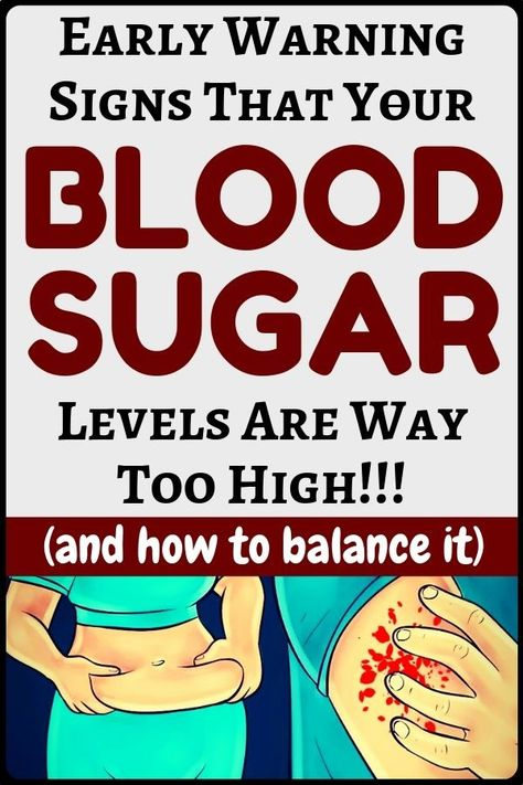Early warning signs that indicate your blood sugar levels are very high - health and fitness...!