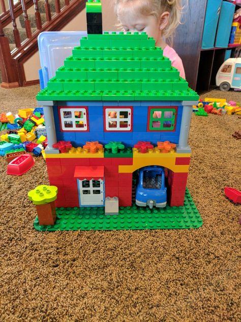 Lego Duplo 2 Story House Lego Ideas Lego For Kids Lego Duplo