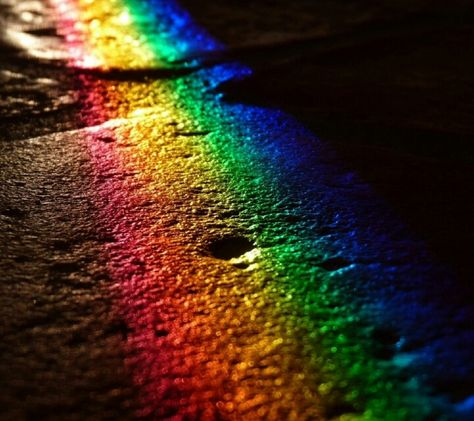 Rainbow Road Rainbow Wallpaper Aura Colors Rainbow