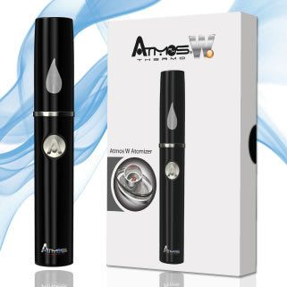 The Atmos Thermo W is an excellent vaporizer pen which has been relaunched, now featuring a waxy atomizer.  This powerful item has a unique, stylish look and is made to be extremely lightweight and portable.  The Thermo W from Atmos is definitely a well constructed, heavy duty vaporizer pen.