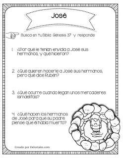 Jose De Los Tales Lecciones De La Escuela Dominical