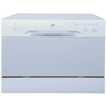 Sunpentown Countertop Dishwasher 2210 Series Silver Countertop Dishwasher Countertops Dishwasher