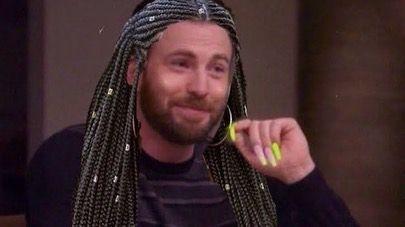 Chris Talking About The Acrylic Nails Memes Chris Evans Evan Reaction Pictures
