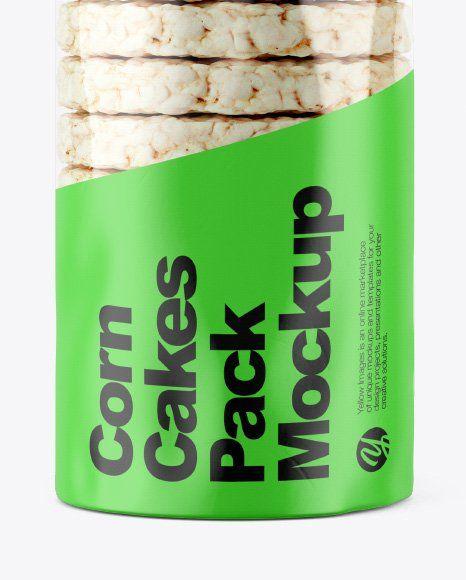 Download Rice Packaging Mockup Corn Cakes Cake Packaging Rice Packaging
