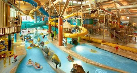 Splash Lagoon Indoor Water Park & Resort, Erie-- 4 hours away