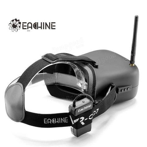 Only US$65.99, buy best Eachine VR-007 VR007 5.8G 40CH HD FPV Goggles Video Glasses 4.3  Inch With 7.4V 1600mAh Battery sale online store at wholesale price.US/EU direct.