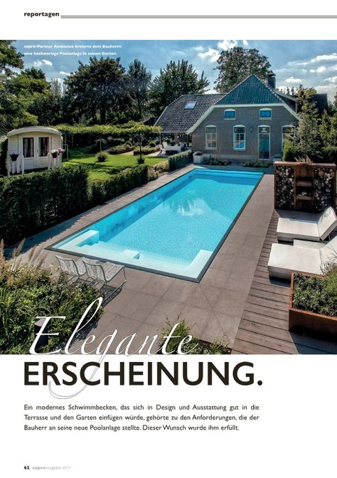 2992 best Pools images on Pinterest Swiming pool, Swimming pools - schwimmbad im garten