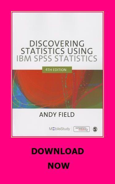 Discovering Statistics Using Ibm Spss Statistics Spss Statistics Audio Books Reading Online