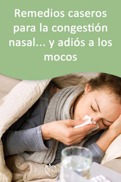 remedios caseros para el resfriado mocos