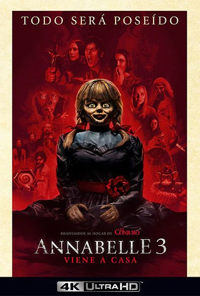 Annabelle 3 Viene A Casa 2019 Lorraine Warren The Conjuring Full Movies