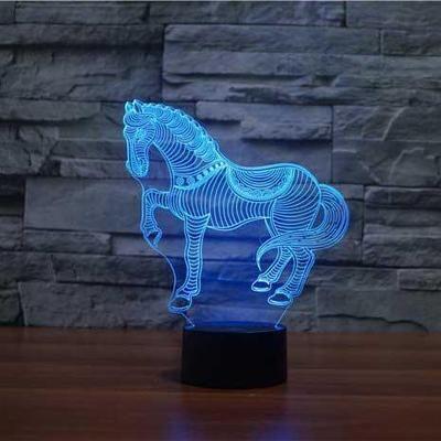 3D Optical LED Illusion Lamps Lampeez