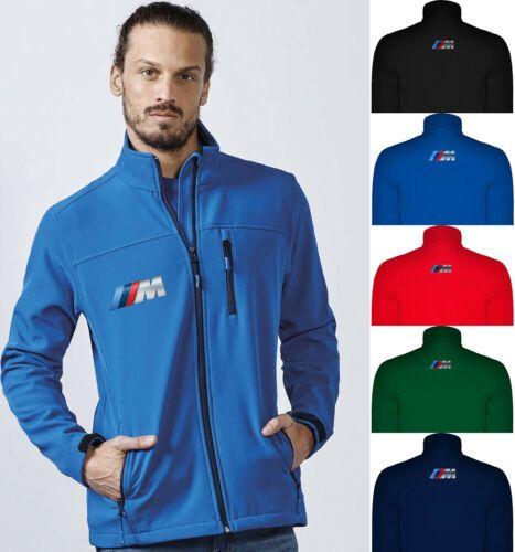 BMW M Power Softshell Jacket Travel Coat Chaqueta Giacca