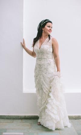 Lazaro 3454 Wedding Dress Used Size 12 3 500 Dresses Wedding Dresses Mermaid Style Dress