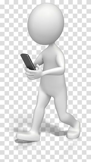Iphone Text Messaging Stick Figure Texting While Driving Animation Competition Transparent Background Png C Transparent Background Iphone Texts Phone Template