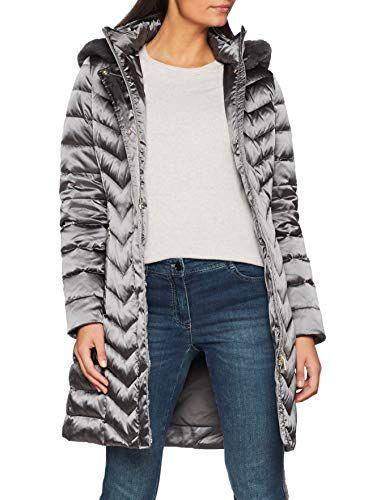 Viaje Estadio Frustrante  W CHLOO Long down jacket with detachable hood Grey UK 14 | Outerwear women,  Jackets, Down jacket