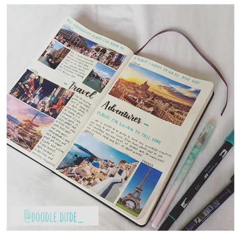 travel scrapbooking ideas travelers notebook