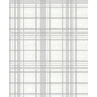 Superfresco Easy Highland Country Tartan Vinyl Strippable Roll Covers 56 Sq Ft 104804 The Home Depot In 2021 Grey Removable Wallpaper Grey Plaid Wallpaper Plaid Wallpaper