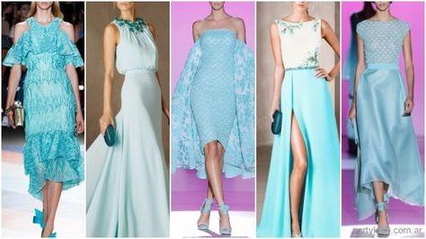 Los Colores De Moda Para Vestidos De Fiestas Primvera Verano