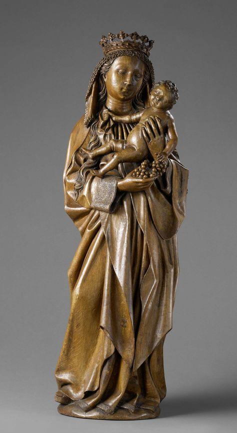 Maria met kind, Meester van Joachim en Anna, 1470