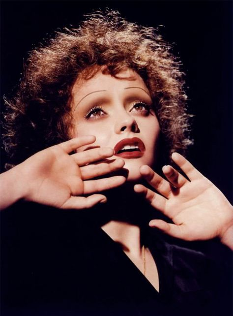 Christina Ricci as Edith Piaf in Face Forward by Kevyn Aucoin.