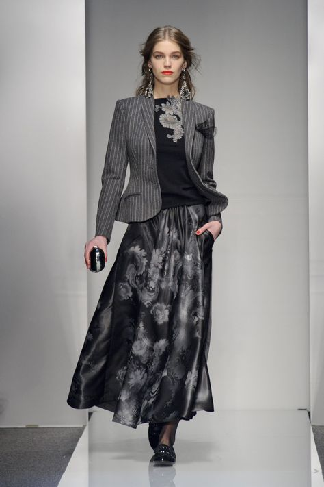 Formal Skirt Suits For Work – Fall-Winter Catwalk Looks