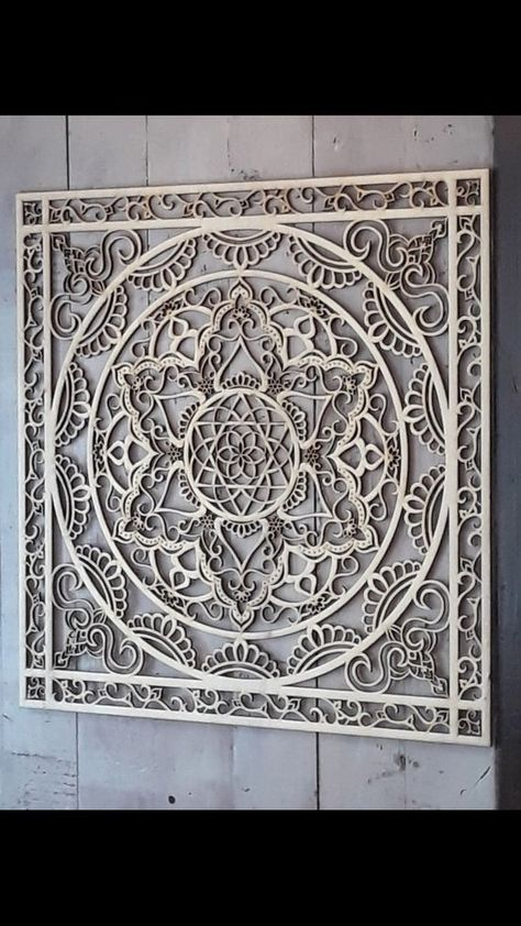 Square Mandala, Bohemian Style Art Wood Wall Hanging, Sacred Geometry Spiritual Home Decor Gift, Large Size. Walls are the backdrop for your furniture and home decor, and they set the tone more than youd think. Mandala wood décor will fill white spaces, bare walls and create modern eclectic