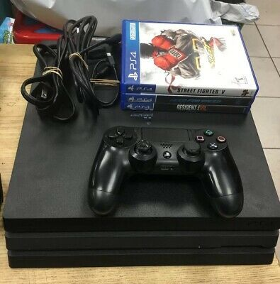 Sony PlayStation 4 Pro CUH-7215B 1TB Gaming Console PS4 Used System Bundle  4K #ps4 #gaming #video   Gaming console, Playstation consoles, Playstation 4