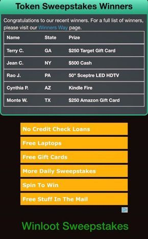 Pin by Traci Herzog on Pch sweepstakes | Free sweepstakes, Instant