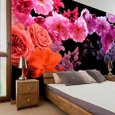 Vlies Fototapete 3d Effekt Blumen Tapete Schlafzimmer Wandbilder Xxl 3 Farbe Eur 8 99 Picclick De In 2020 Deko Tapete Tapete Schlafzimmer Fototapete 3d