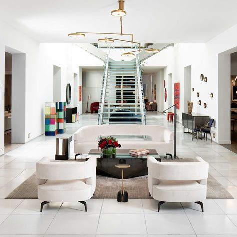 2018 Miami Design Week Collection Interior Vignette Miami Design Seating