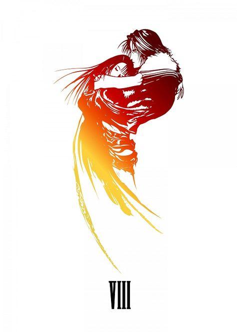 Final Fantasy VIII by Gemini Phoenix | metal posters