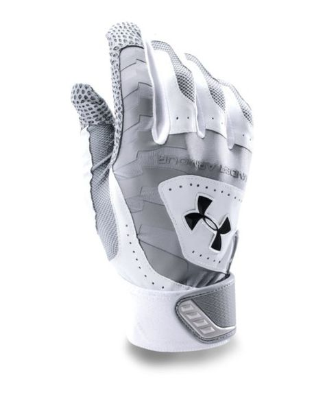 Under Armour Men's UA Yard Batting Gloves Small Steel Tactical Wear, Tactical Gloves, Tactical Clothing, Leather Work Gloves, Fishing Gloves, Army Clothes, Biker Gear, Hand Gloves, Batting Gloves