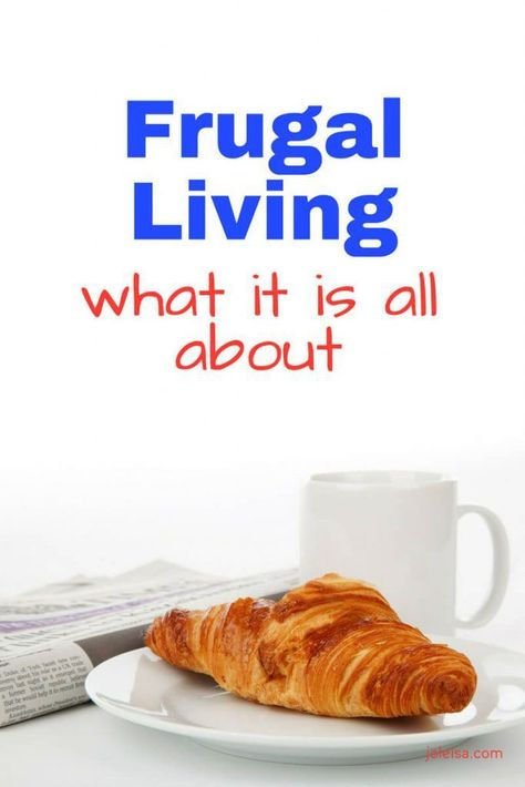 Frugal Living: What it is all About - joleisa