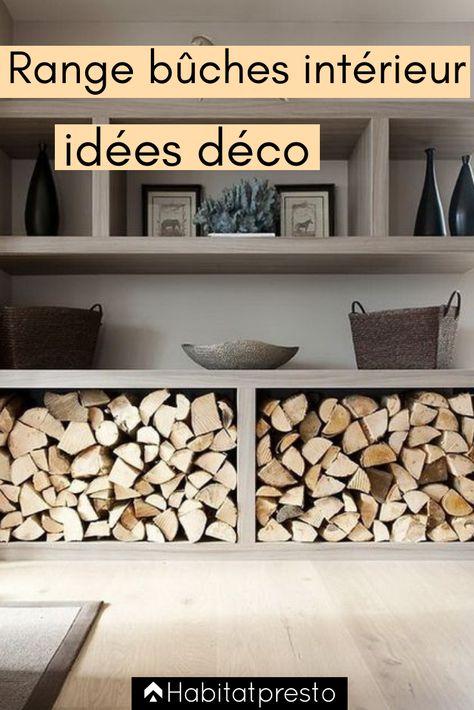 Range Buches Interieur Nos Idees Deco Originales Rangement Bois De Chauffage Range Buche Interieur Range Bois Interieur