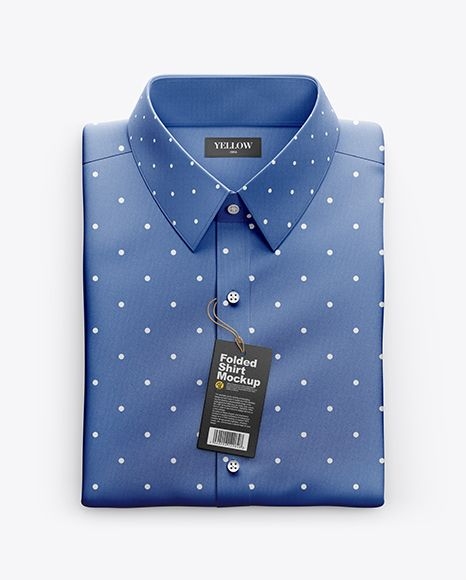 Download Folded Shirt Mockup Top View In Apparel Mockups On Yellow Images Object Mockups Shirt Folding Shirt Mockup Mockup