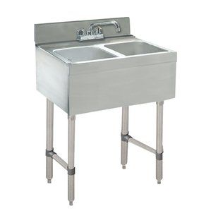 24 X 21 Free Standing Service Utility Sink With Faucet Bar Sink Sink Free Standing Bar