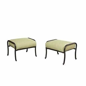 Hampton Bay Edington Patio Furniture Patio Ottoman Furniture Patio Furniture Covers