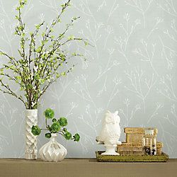 Roommates Twigs Peel Stick Wallpaper The Home Depot Canada In 2020 Bamboo Wallpaper Peel And Stick Wallpaper Wallpaper Roll