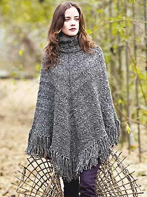 Easy Poncho Patterns For Free Download Free Knitting Pattern