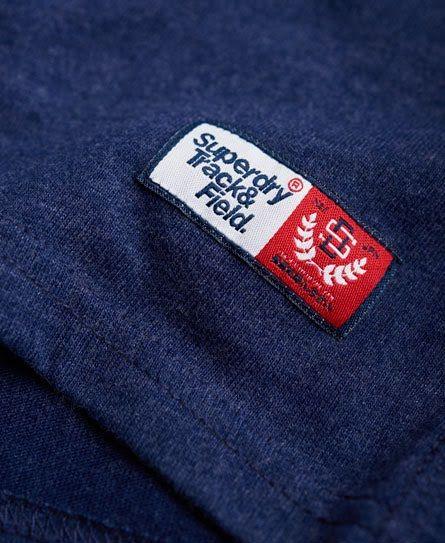 Superdry T-shirt Trackster Bleu Marine