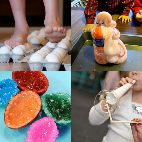 The 25 coolest at-home science experiments for kids.