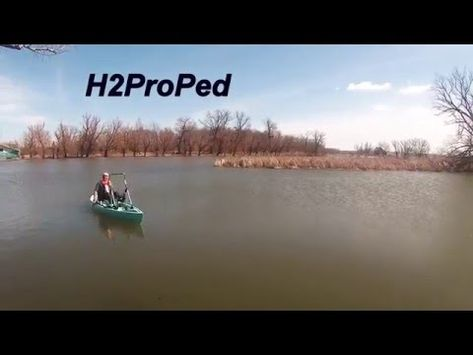 Pedal powered  drive system that installs on kayaks, canoes or other watercraft.